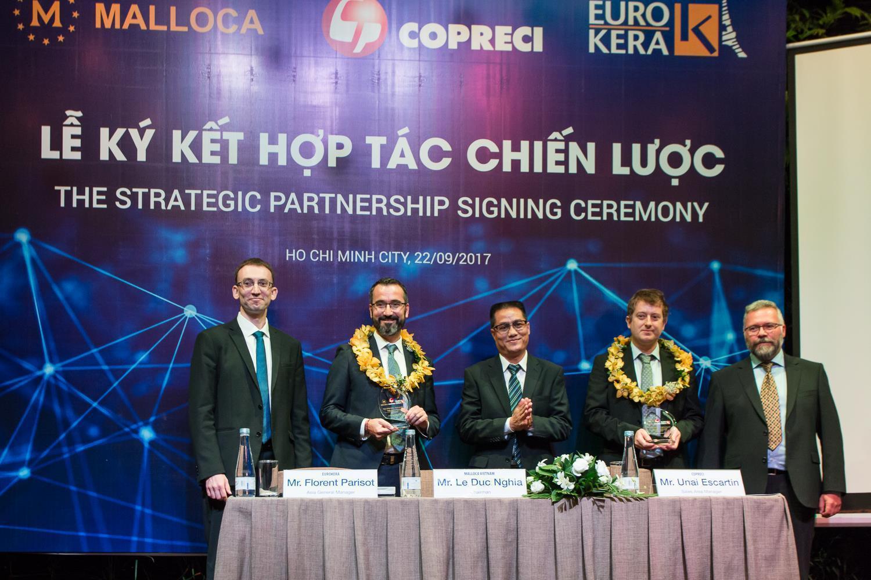 """Malloca Việt Nam hợp tác chiến lược với hai """"ông lớn"""" châu Âu về thiết bị nhà bếp"""