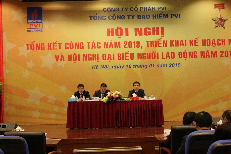 Bảo hiểm PVI tổ chức Hội nghị tổng kết năm 2018, triển khai kế hoạch năm 2019