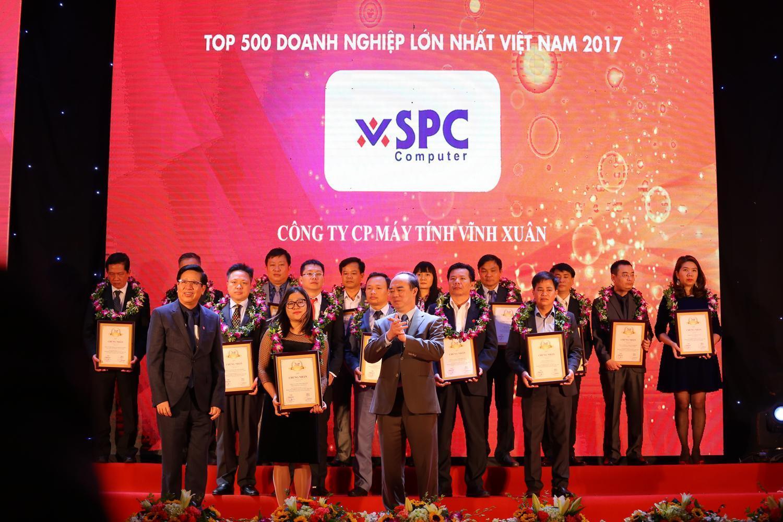Vĩnh Xuân tiếp tục nằm trong Top 500 Doanh nghiệp lớn nhất Việt Nam 2017