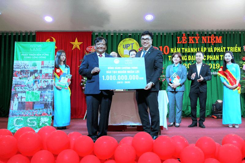 Thực hiện trách nhiệm xã hội tại Bình Thuận , NOVALAND song hành cùng giáo dục đào tạo