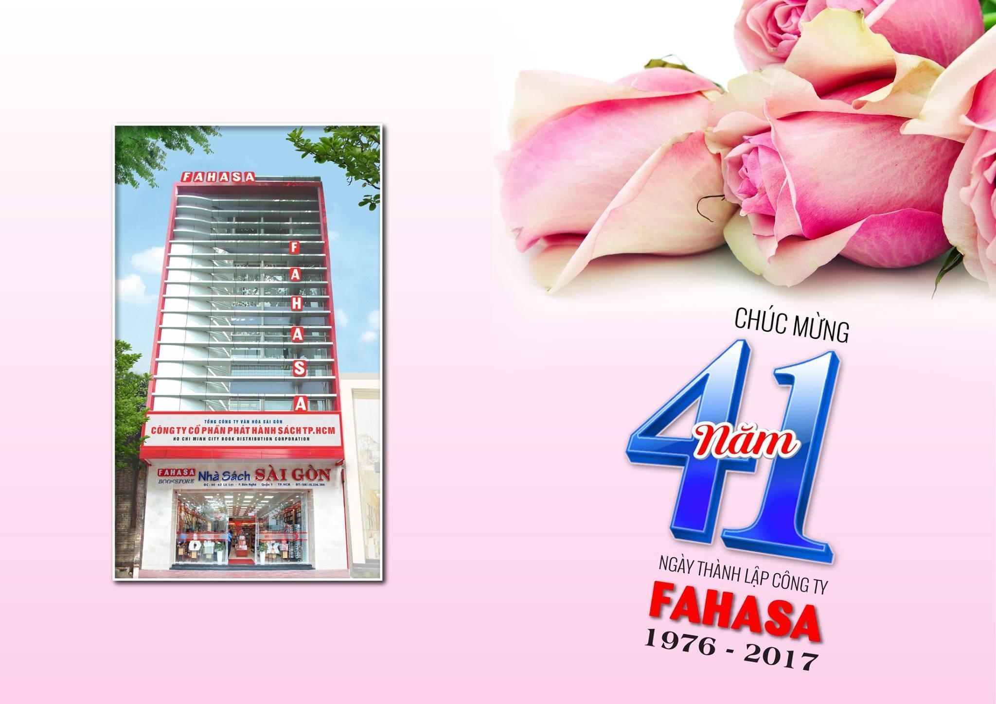 Fahasa kỷ niệm 41 năm ngày thành lập công ty (6.8.1976 - 6.8.2017)