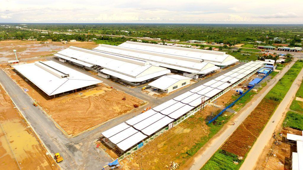 Atad lắp dựng dự án FDI lớn nhất Cần Thơ