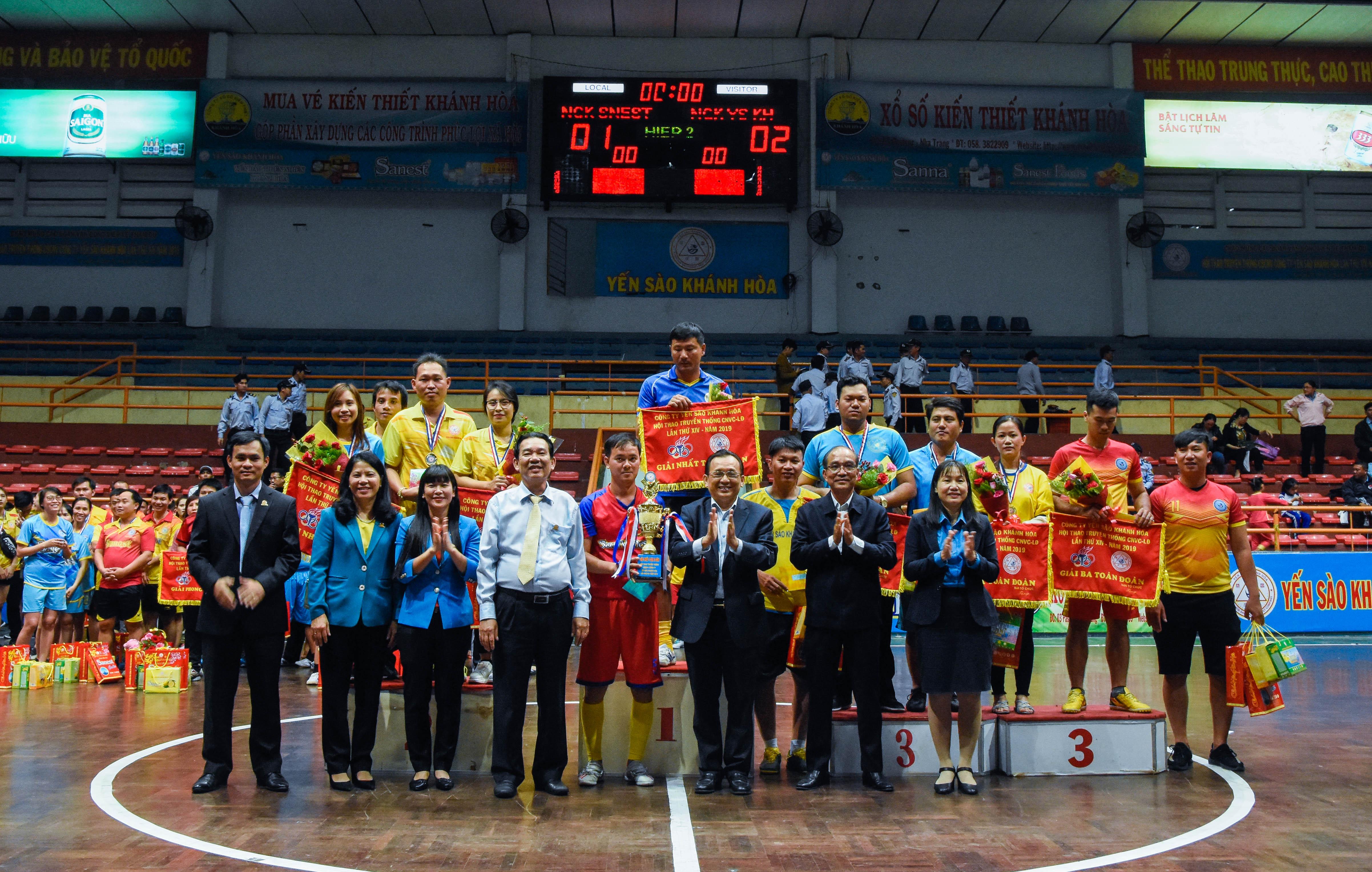 Công ty Yến sào Khánh Hòa tổ chức Hội thao truyền thống lần thứ 14 năm 2019