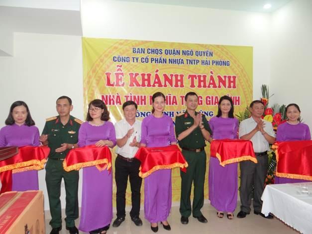 Nhựa Tiền Phong: Trao nhà tình nghĩa cho gia đình chính sách