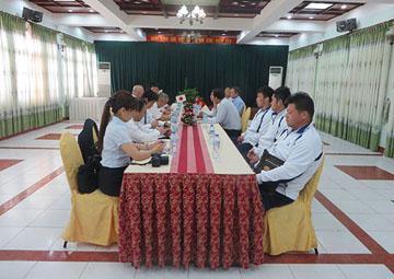 Công ty CP Xây dựng 47 đón Nghiệp Đoàn Global Staffing (Nhật Bản) đến thăm và làm việc