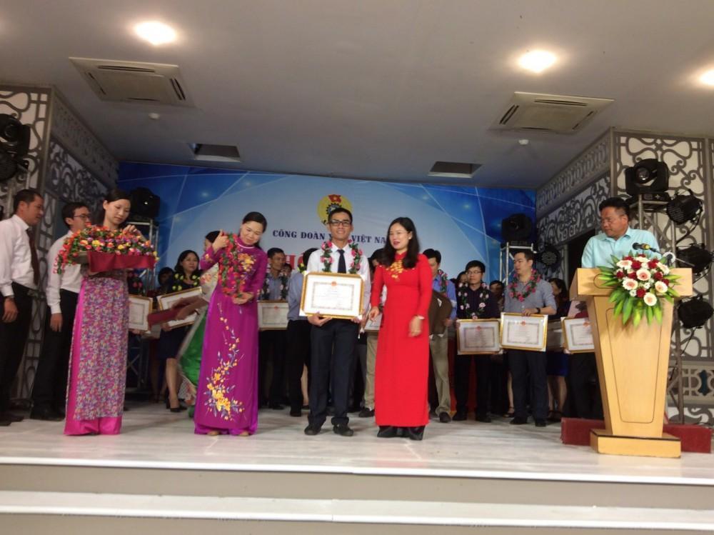 Đoàn viên công đoàn OPC vinh dự nhận bằng khen Bộ Y tế