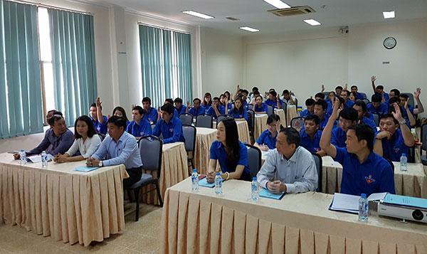 Đại hội Đoàn cơ sở SCTV nhiệm kỳ 2017-2022