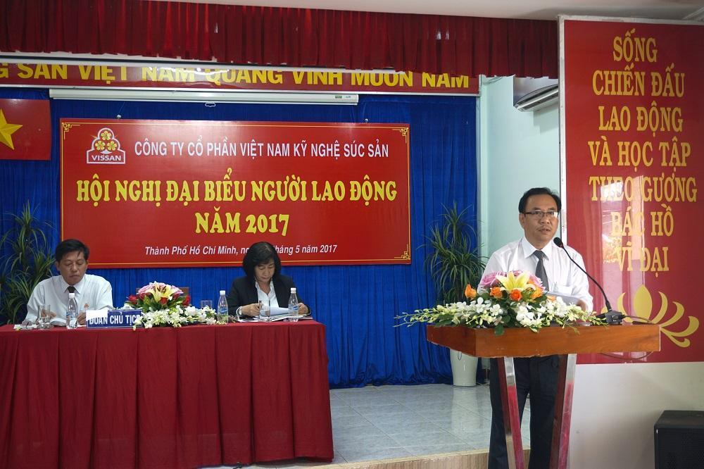 VISSAN tổ chức Hội nghị đại biểu người lao động năm 2017