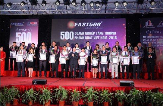 Công bố bảng xếp hạng 500 DN tăng trưởng nhanh nhất Việt Nam năm 2017