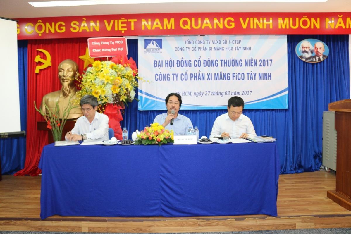 ĐHĐCĐ thường niên Công ty CP Xi Măng Fico Tây Ninh
