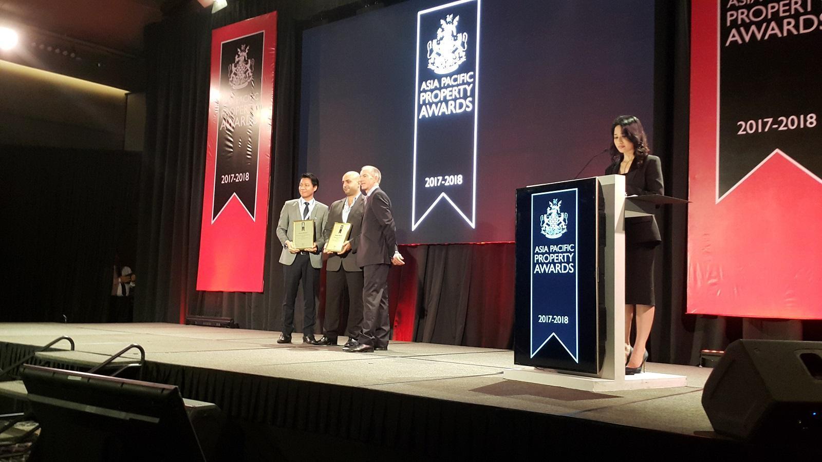 Dự án Him Lam đoạt hai giải thưởng quốc tế tại ASIA PROPERTY AWARDS 2017