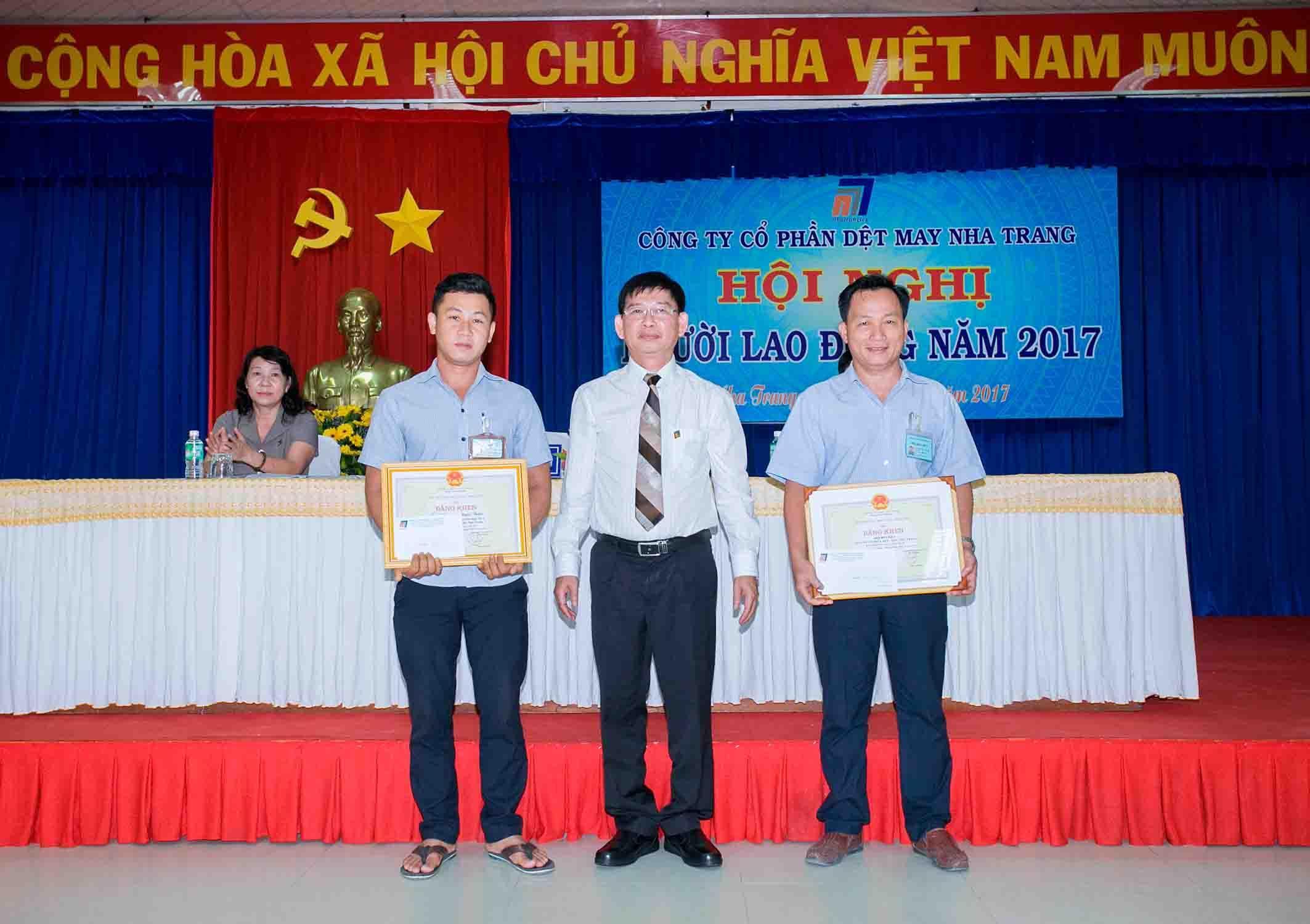 Công ty CP Dệt May Nha Trang vững mạnh bởi sự đồng lòng của tập thể