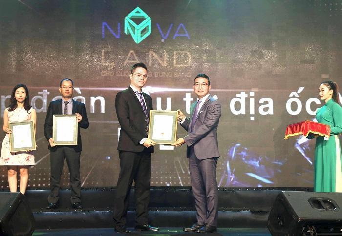 Novaland lọt vào Top 10 Báo cáo thường niên tốt nhất 2017