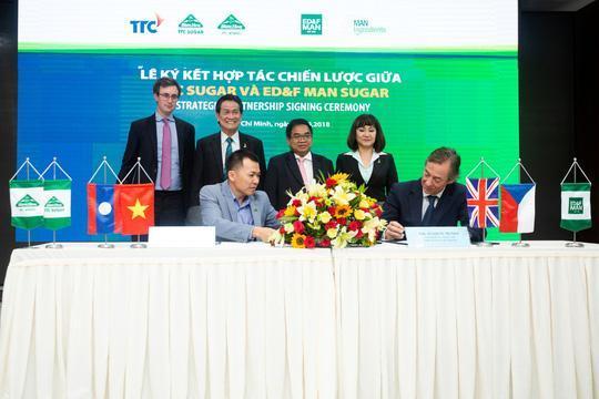 TTC bắt tay ED&F Man Sugar đưa sản phẩm đường Organic sang châu Âu