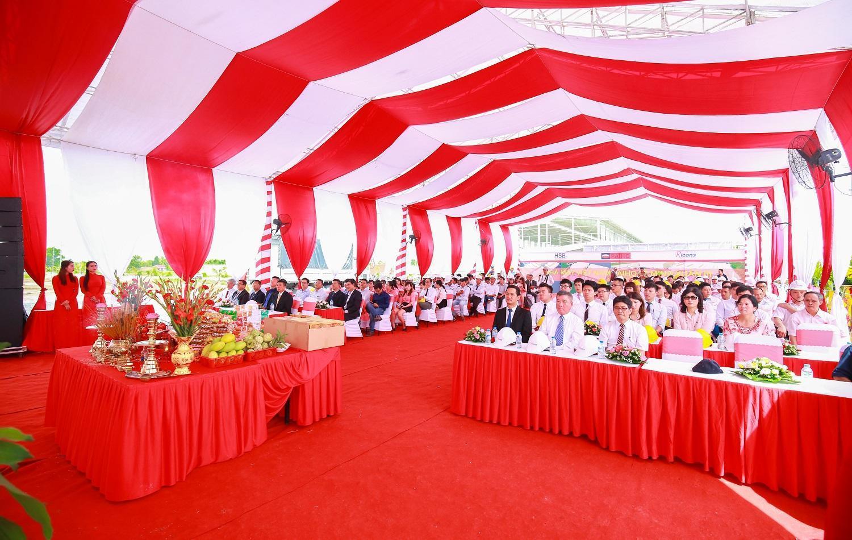 Ricons khởi công xây dựng nhà máy Việt Nam Paiho Lê Minh Xuân 3