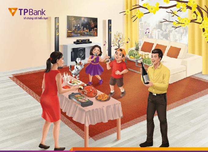 TPBank dành hàng ngàn quà tặng ưu đãi dịp Tết
