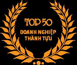 Top 50 Doanh nghiệp thành tựu
