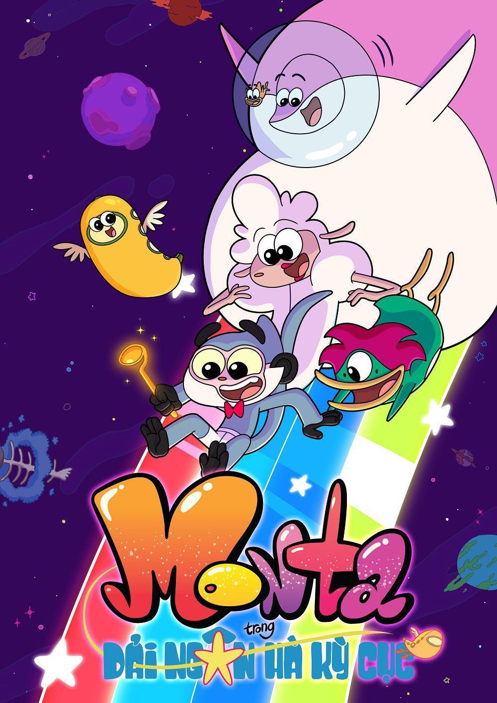 """Vintata công chiếu series hoạt hình """" Monta trong giải ngân hà kỳ cục''"""
