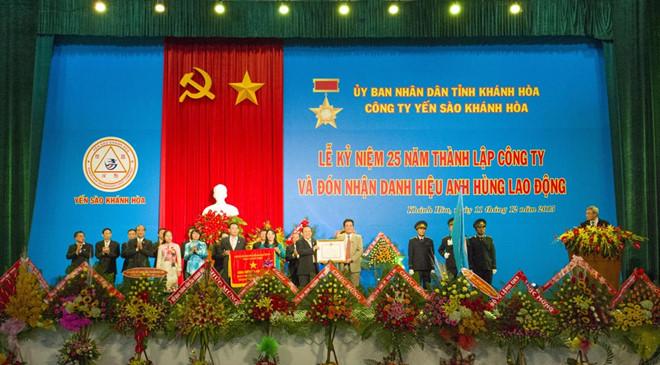 Yến sào Khánh Hòa - giá trị thương hiệu quốc gia
