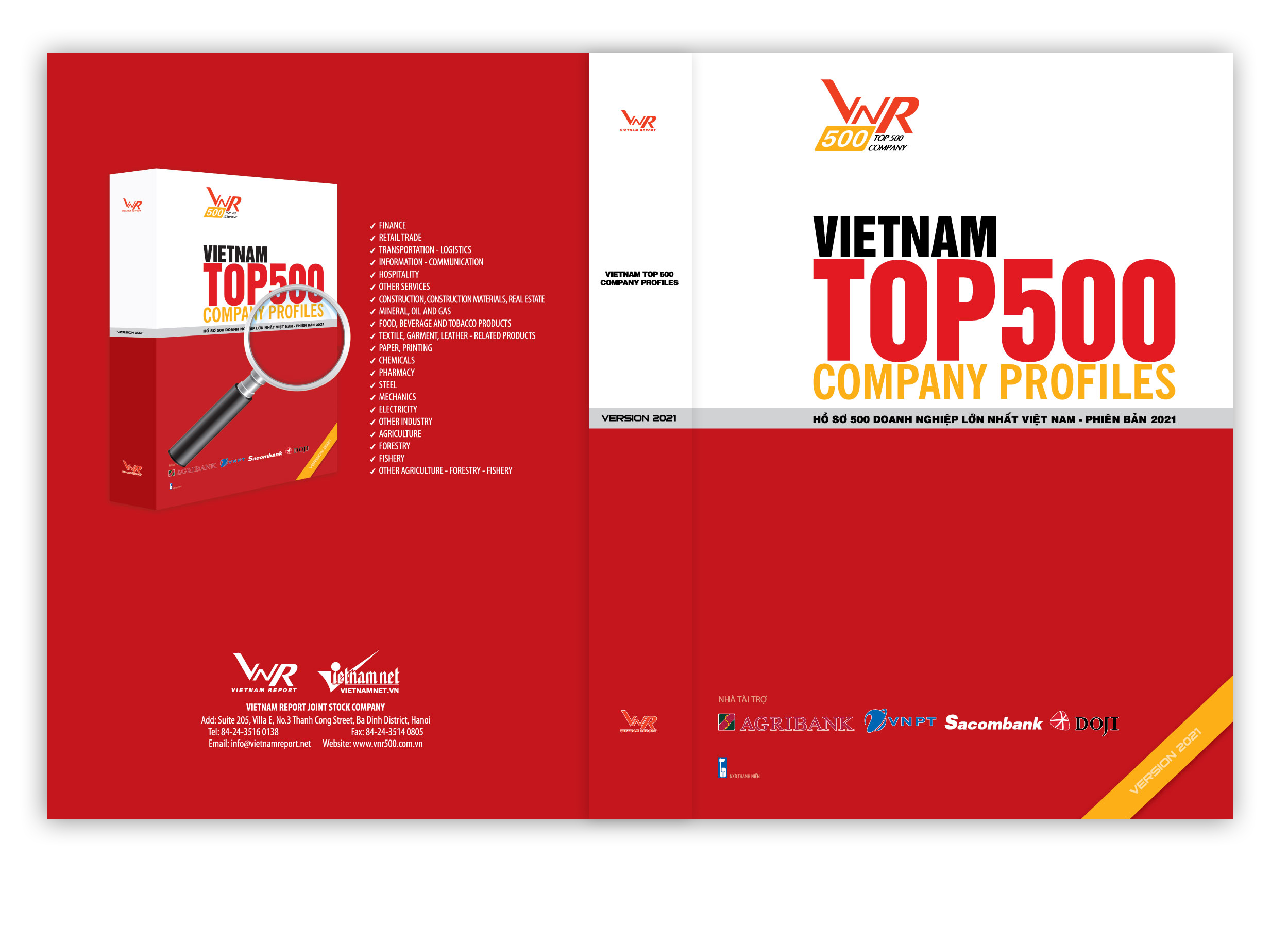 Hồ sơ 500 Doanh nghiệp lớn nhất Việt Nam_Phiên bản 2021
