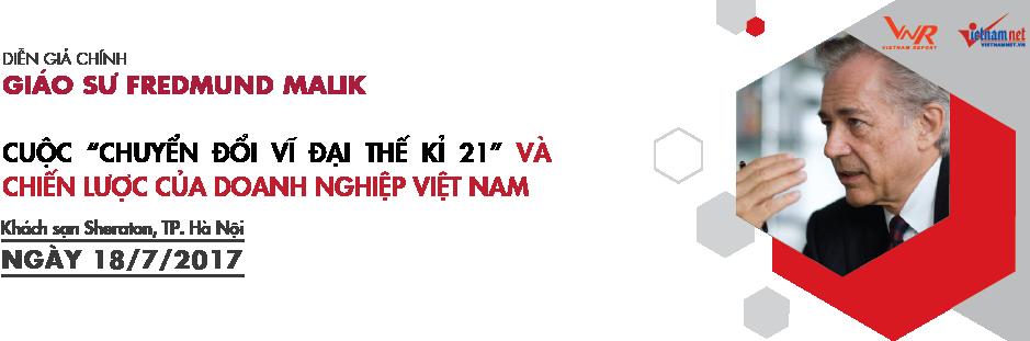GS. Malik là diễn giả chính trong Hội nghị Vietnam CEO Summit, diễn ra ngày 18/07 tới đây tại Khách sạn Sheraton (Hà Nội).