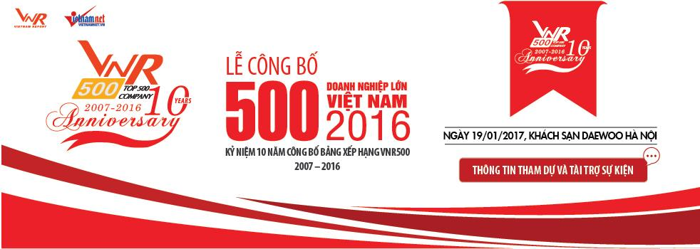 LỄ CÔNG BỐ BXH VNR500