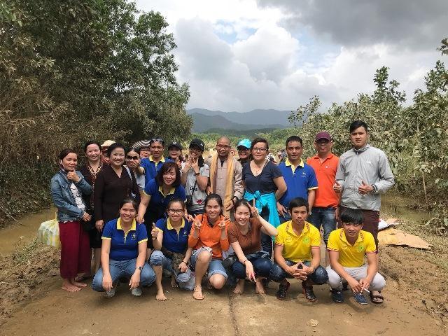 Công ty TNHH Malloca Việt Nam chung tay hỗ trợ đồng bào miền Trung