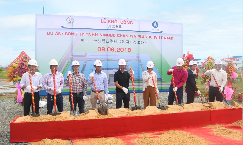 Công ty Hải Đăng khởi công xây dựng nhà máy Ningbo Changya