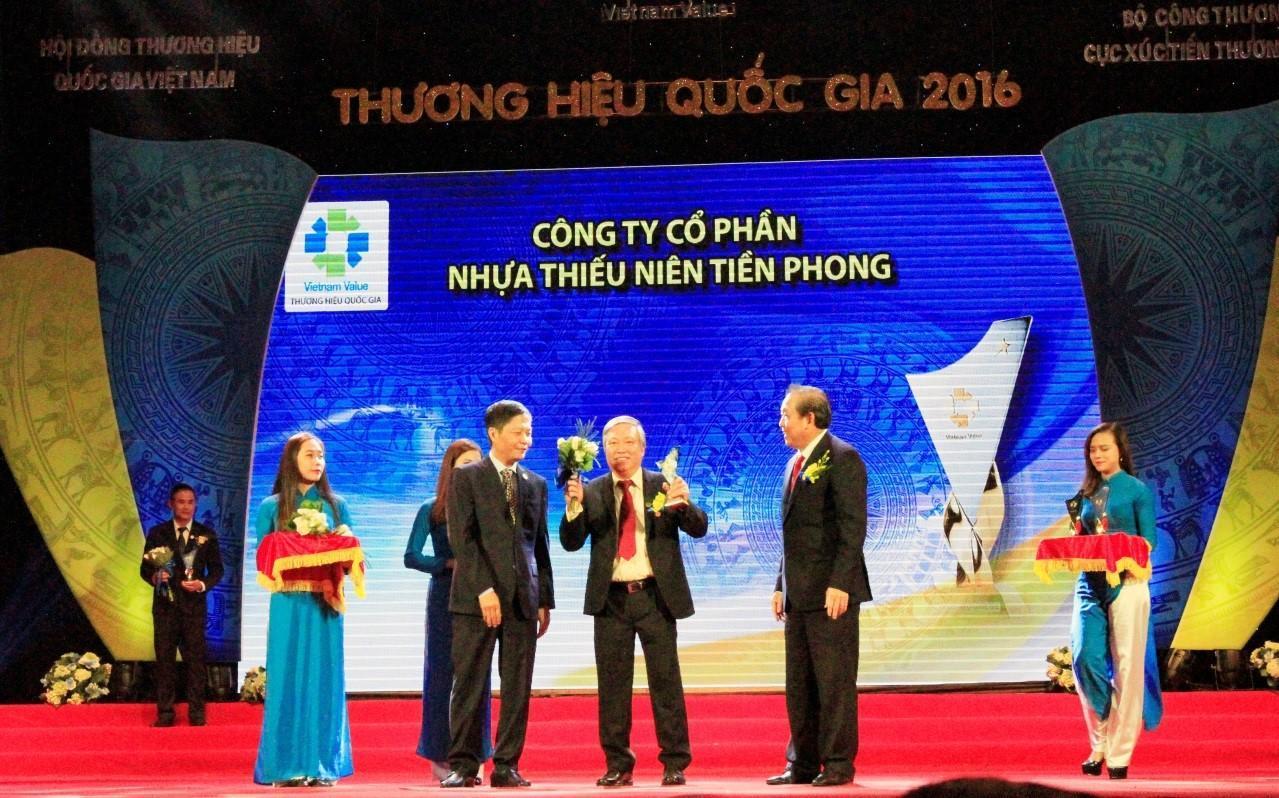 Nhựa Tiền Phong tự hào đạt thương hiệu quốc gia