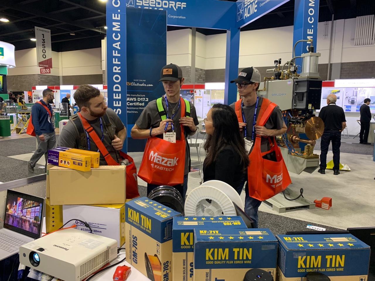 Kim Tín Group tham gia hội chợ Fabtech – USA 2018