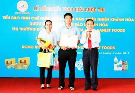 Công ty Yến sào Khánh Hòa trao thưởng 3 cuộc thi lớn