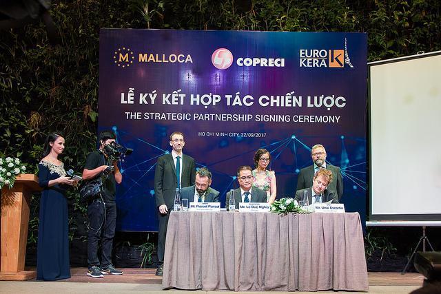 Thiết bị bếp Malloca hợp tác với hai tập đoàn hàng đầu châu Âu