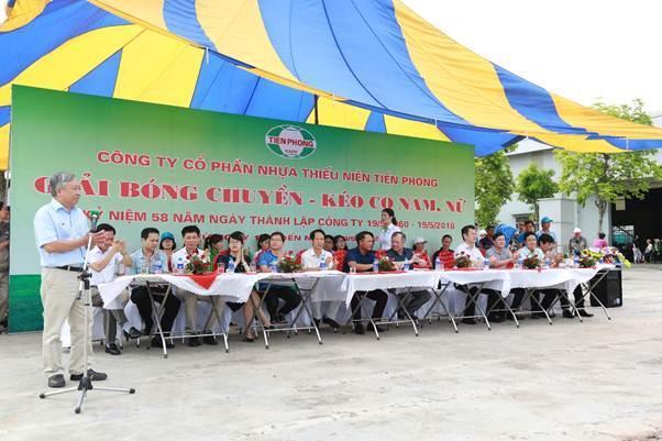 Sôi nổi hội thao Công Ty CP Nhựa Thiếu niên Tiền Phong