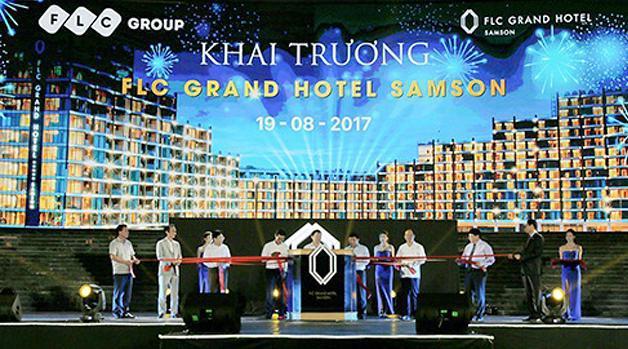 FLC Grand Hotel Samson chính thức khai trương sau 10 tháng thi công