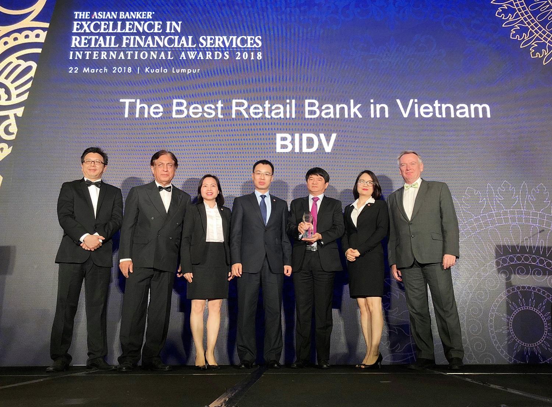 BIDV - Dấu ấn Ngân hàng bán lẻ Việt Nam trên trường quốc tế