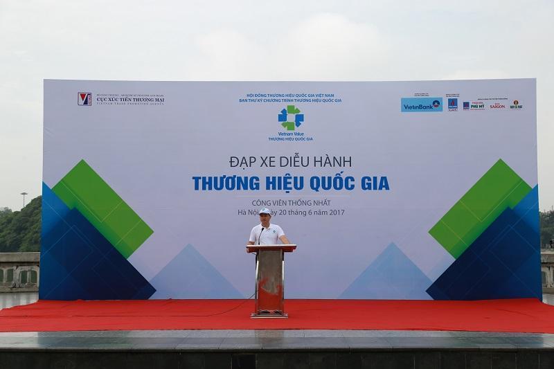 """VnSteel Thăng Long tham gia chương trình """" Tuần lễ Thương hiệu Quốc gia Việt Nam 2017"""""""