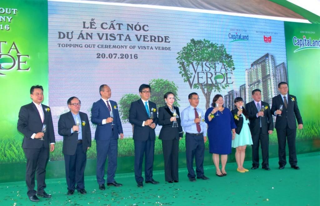 Lễ cất nóc dự án Vista Verde