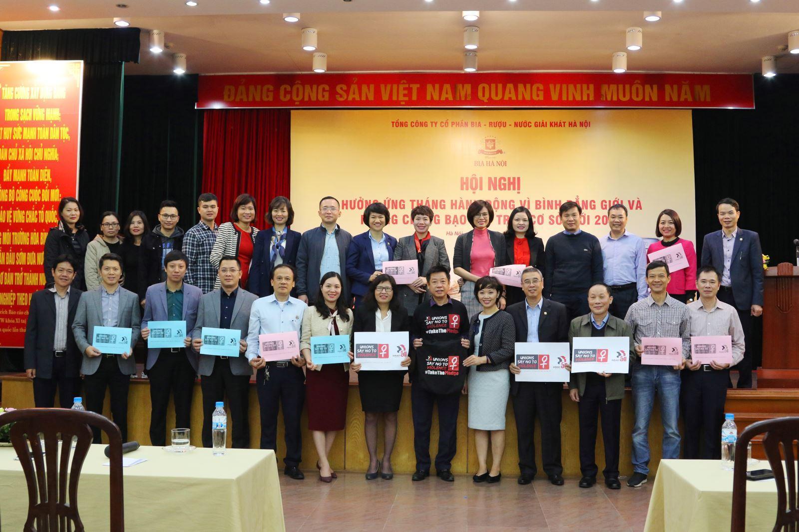 HABECO tổ chức Hội nghị tháng hành động vì bình đẳng giới và phòng chống bạo lực