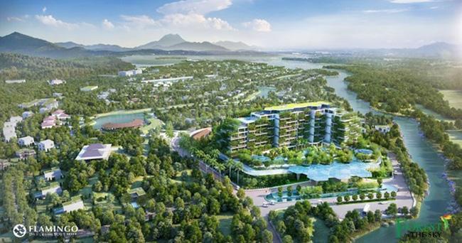 Nhà thầu FDC cất nóc dự án Forest In The Sky (Flamingo Đại Lải)