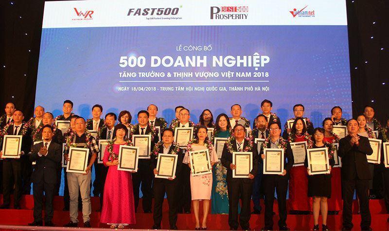 Top 500 Doanh nghiệp Việt Nam Thịnh vượng năm 2019