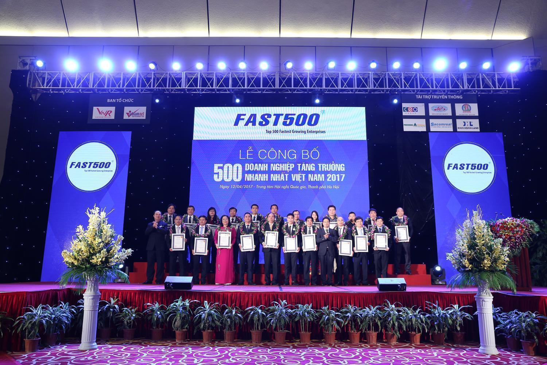 FAST500: Công bố xếp hạng 500 Doanh nghiệp tăng trưởng nhanh nhất Việt Nam năm 2018