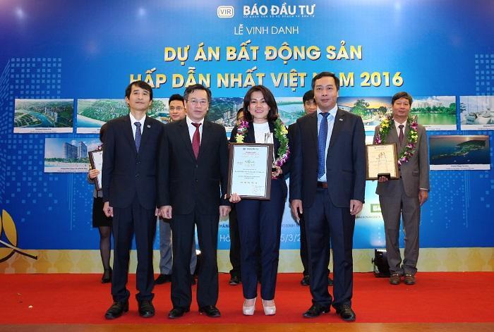 """Lakeview city vinh dự nhận giải thưởng """"Dự án Bất động sản hấp dẫn nhất Việt Nam 2016"""""""