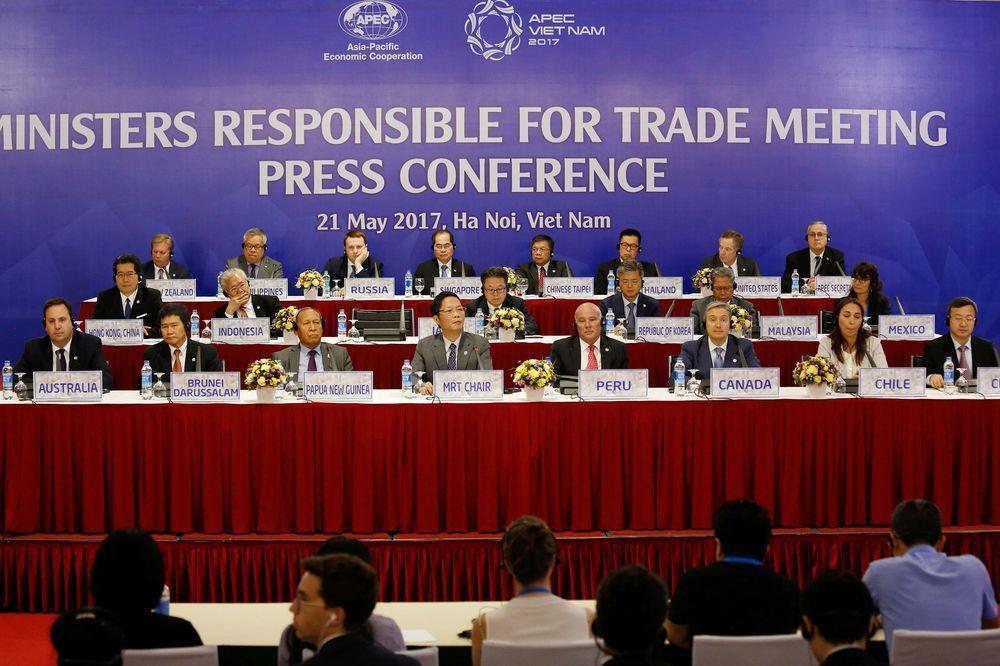 TPP 11 thảo luận gạch tên Mỹ khỏi hiệp định