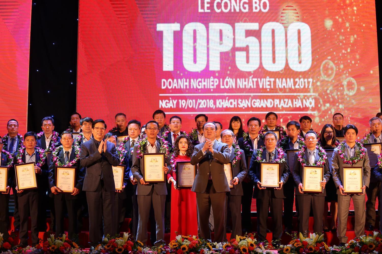 Lễ công bố 500 doanh nghiệp lớn nhất Việt Nam năm 2018