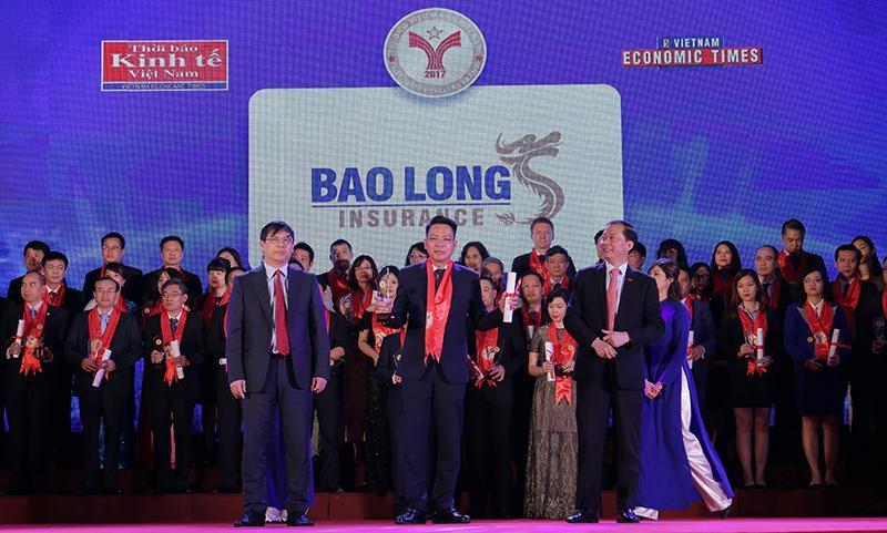 """Bảo hiểm Bảo Long được vinh danh """"Thương hiệu mạnh Việt Nam"""" 3 năm liên tiếp"""