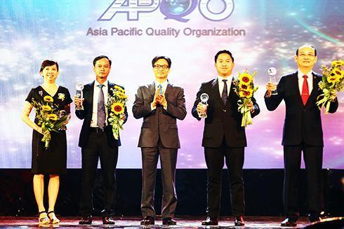 Yến sào Khánh Hòa: Nhận Giải thưởng Chất lượng quốc tế châu Á - Thái Bình Dương