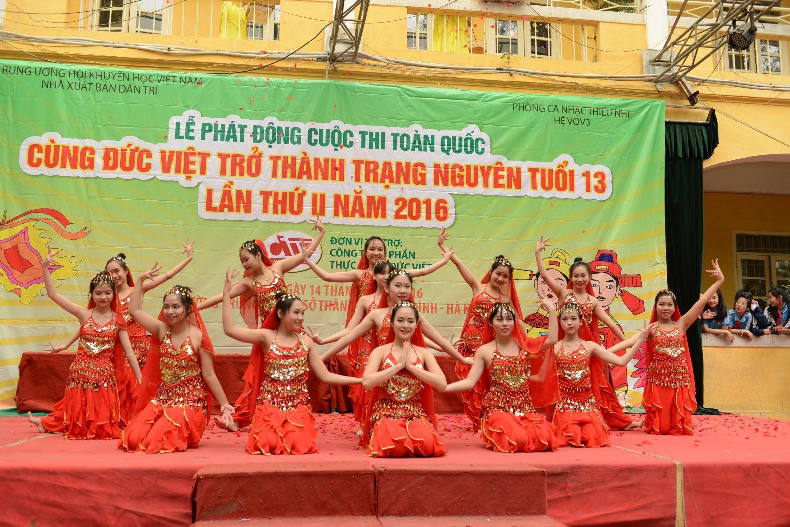 Phát động Cuộc thi 'Cùng Đức Việt trở thành Trạng Nguyên tuổi 13' lần thứ 2