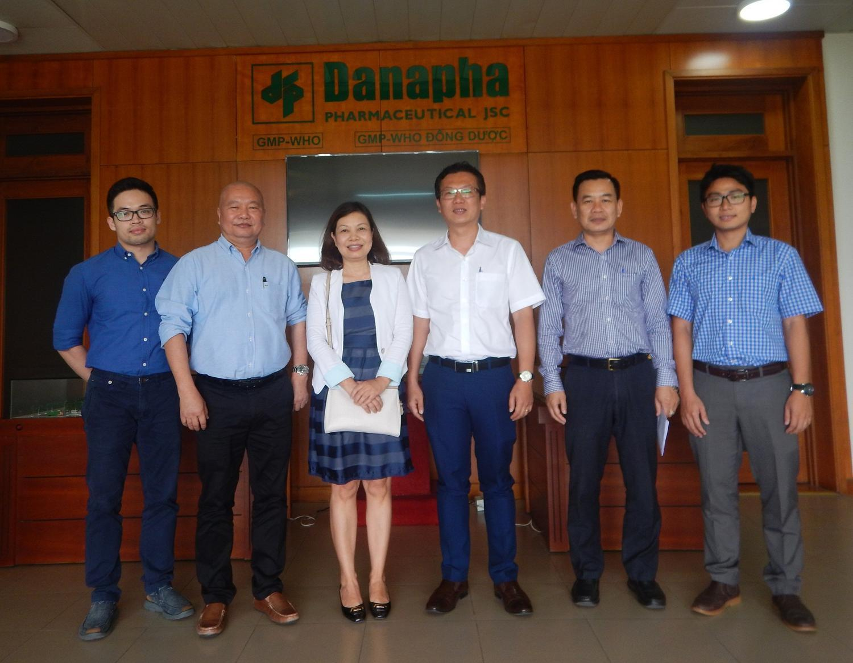 VCCI Đà Nẵng thăm và làm việc tại Danapha