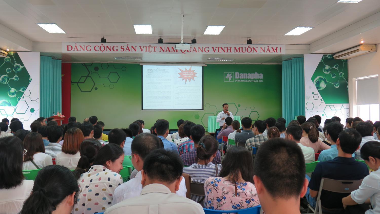 Danapha tổ chức huấn luyện An toàn vệ sinh lao động năm 2017