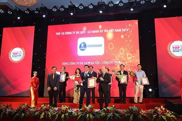 Hanoitourist - Top 10 Công ty Du lịch, lữ hành Việt Nam uy tín năm 2017